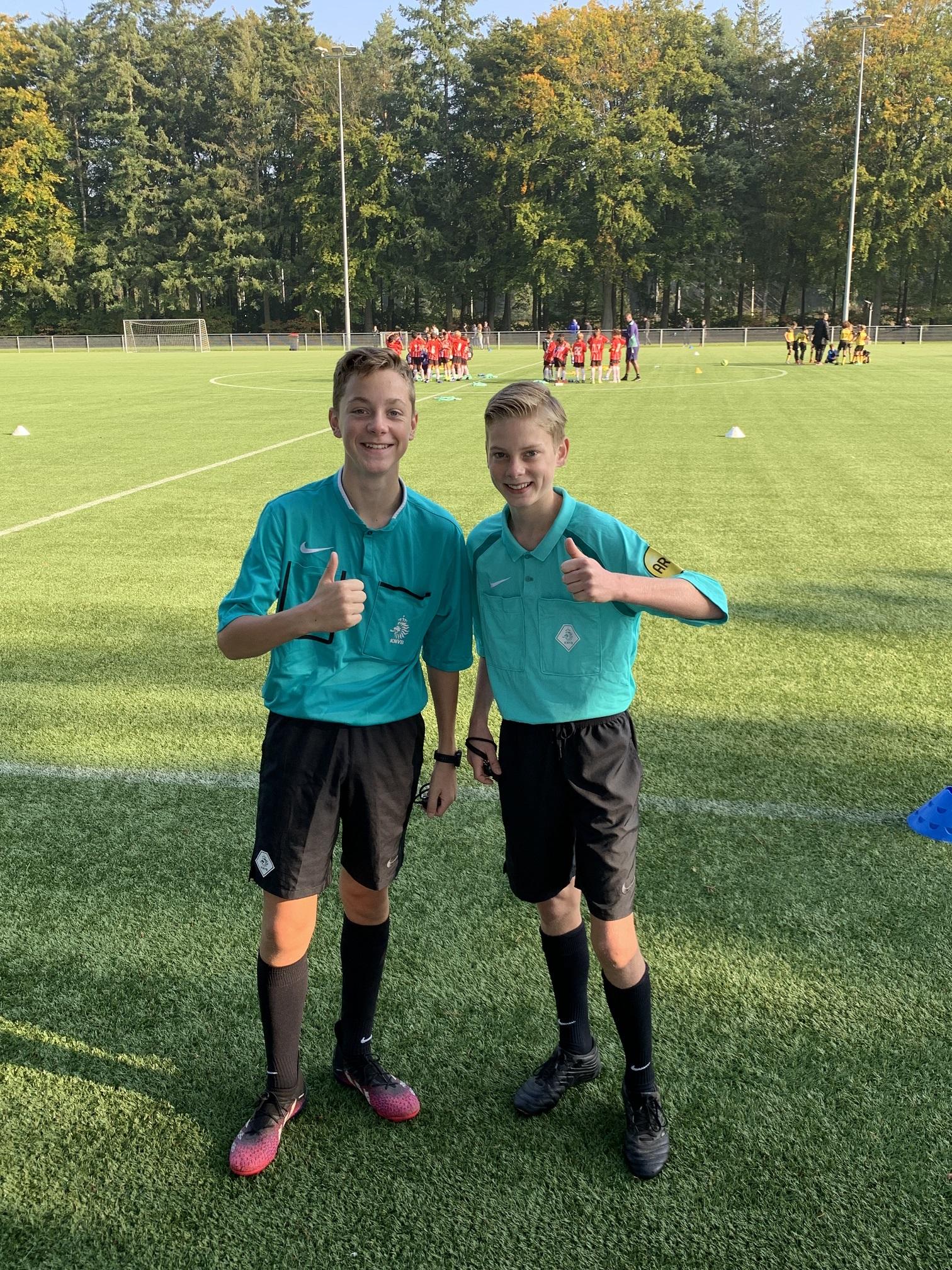 DOSL scheidsrechters bij PSV!